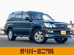 ランドクルーザー100シグナス 4WD・サンルーフ・革シート・純正マルチナビ