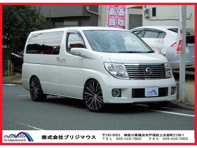 日産 X 車高調 20インチAW ナビ・TV 両Pスラ Rモニター