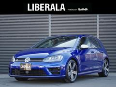 VW ゴルフRベースグレード ACC 黒革シート シートヒーター