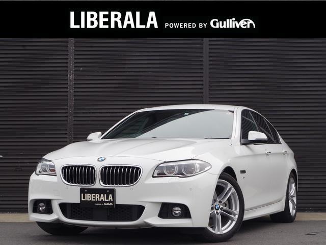 BMW 5シリーズ 523d Mスポーツ 正規D車 黒レザーシート LEDヘッドライト