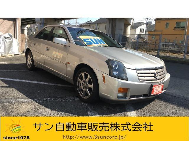 キャデラック 2.6L 黒革電動シート 革&木目ステアリング CD