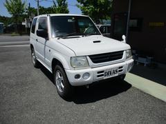 パジェロミニV 4WD AT ターボ 背面タイヤ 後席分割シート