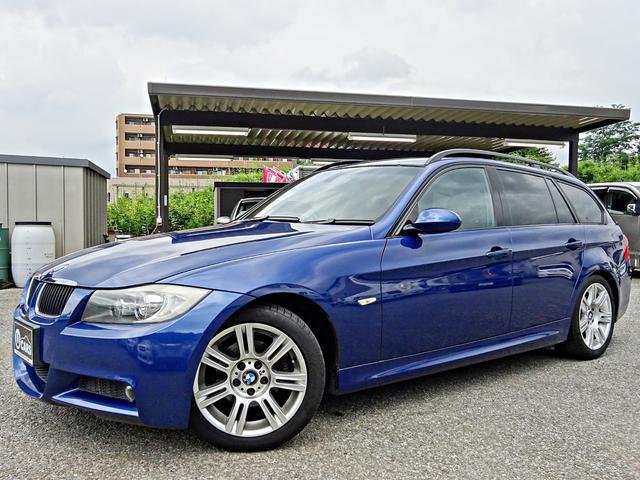 BMW 320iツーリング MスポーツPKG 禁煙車 本革シート