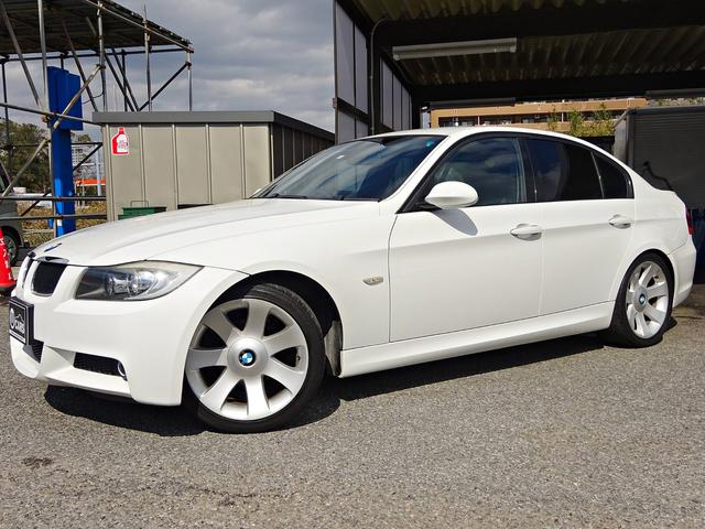 BMW 3シリーズ 320i Mスポーツパッケージ 禁煙車 ETC 電動シート HIDライト オートライト オートワイパー キーレス トランクスポイラー