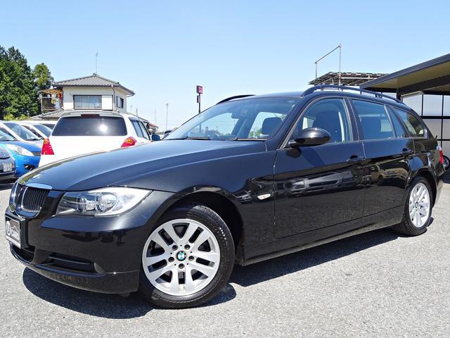 BMW 3シリーズ 320iツーリング 社外HDDナビ2019年マップデータ DVD再生 ミュージックサーバー フルセグTV バックカメラ AUX ETC スマートキー オートライト オートワイパー 電動シート ケンウッドドラレコ HID