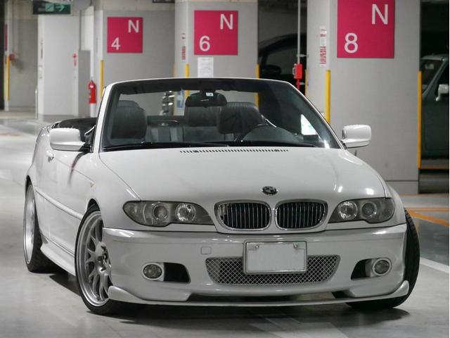 BMW 330Ciカブリオーレ Mスポ 左H カスタム 車高調