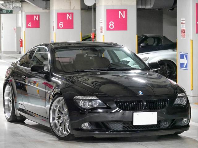 BMW 6シリーズ 650i 左H ワークグノーシス BCレーシング車高調 ナイトビューアシスト ヘッドアップディスプレイ バックカメラ パドルシフト 地デジ サンルーフ