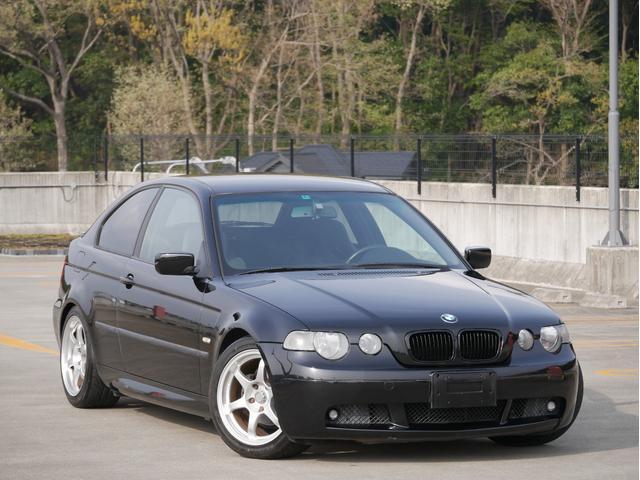 BMW 3シリーズ 318ti Mスポーツ 左ハンドル 5MT ローダウン フルバケットシート 社外アルミホイール