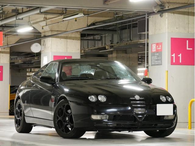 アルファロメオ アルファGTV 2.0ツインスパーク ワンオーナー 正規ディーラー車 左H 5MT ソルパッソーレマフラー ビルシュタインショック 社外シフトノブ GTA17インチ