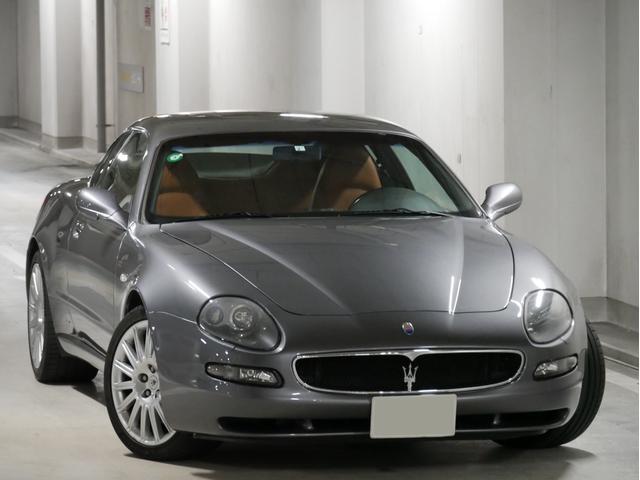 マセラティ GT ディーラー車 左H 6MT アラゴスタ車高調 社外マフラー フル電動シート