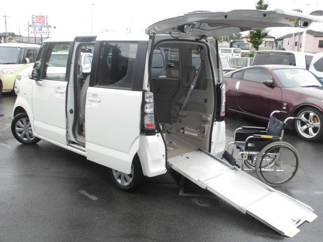 ホンダ G車いす仕様車 HDDナビ地デジ両側スライド電動ウインチ付き