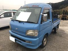 ハイゼットトラックジャンボ 4WD AC MT 軽トラック 2名乗り ブルー