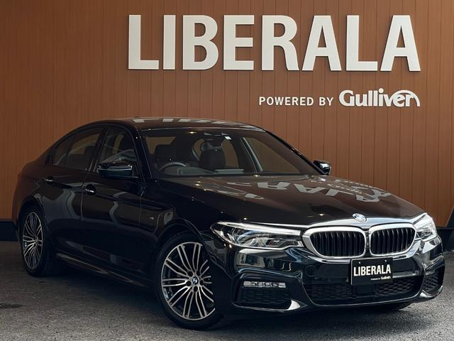 BMW 5シリーズ 523d Mスポーツ イノベーションPKG ACC 全方位カメラ iDriveナビ フルセグTV HUD PDC 衝突軽減ブレーキ 車線逸脱警告 車線変更警告 ステアリングアシスト LEDライト ジェスチャーコントロール