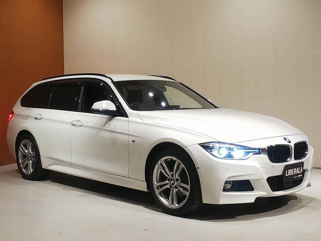 BMW 320i xDriveツーリング Mスポーツ ACC HUD 衝突軽減ブレーキ 車線逸脱警告 車線変更警告 HDDナビ フルセグTV トップビューカメラ コンフォートアクセス パワーバックドア パワーシート パドルシフト 前後PDC LCIモデル