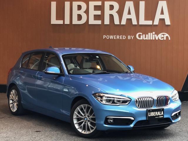 BMW 1シリーズ 118d ファッショニスタ アドバンスドパーキングサポートPKG ACC 衝突軽減B 車線逸脱警告 アイボリーレザー HDDナビ Bカメラ PDC LEDライト コンフォートアクセス パワーシート シートヒーター AW付冬タイヤ