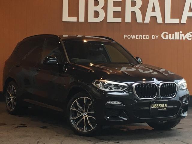 BMW X3 xDrive 20d Mスポーツハイラインパッケージ セレクトパッケージ パノラマSR ACC 衝突軽減B LCW LDA HDDナビ TV トップビュー harmankardon 黒革 パワーシート シートヒーター パワーバックドア LED 20AW