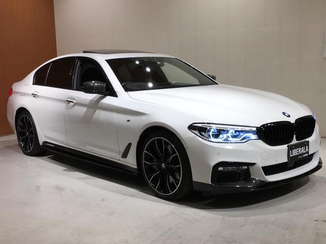 BMW 5シリーズ 540i xDrive Mスポーツ コンフォートPKG イノベーションPKG Mパフォーマンスエアロ Mパフォーマンス20インチAW サンルーフ HUD ACC harmankardon 黒革 エアシート シートヒーター 4ゾーンAC