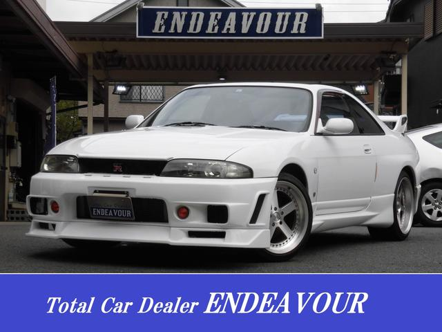 日産 GT-R Vスペック 記録簿 エアロ マフラー タワーバー 社外AW HID