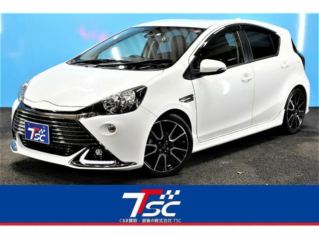 トヨタ G G's 1オーナー/トヨタセーフティセンス/ドライブレコーダー/純正SDナビ/フルセグ/Bluetooth接続/オートクルーズコントロール/専用ローダウンサスペンション/スマートキー&プッシュスタート/ETC