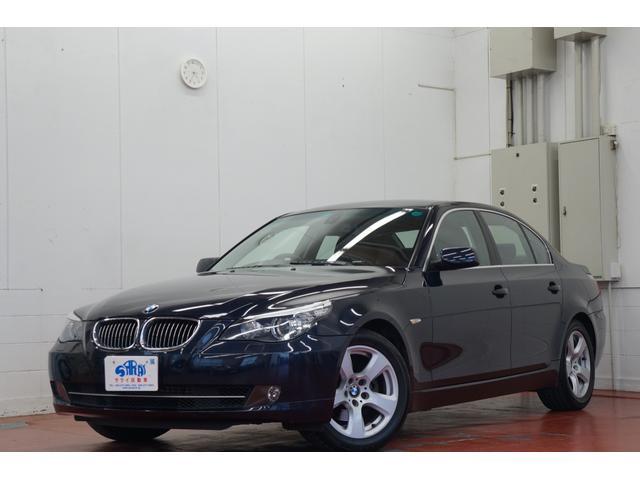 BMW 5シリーズ 525iハイラインパッケージ HDDナビMTモード 革シート電動シートシートヒーターETC禁煙