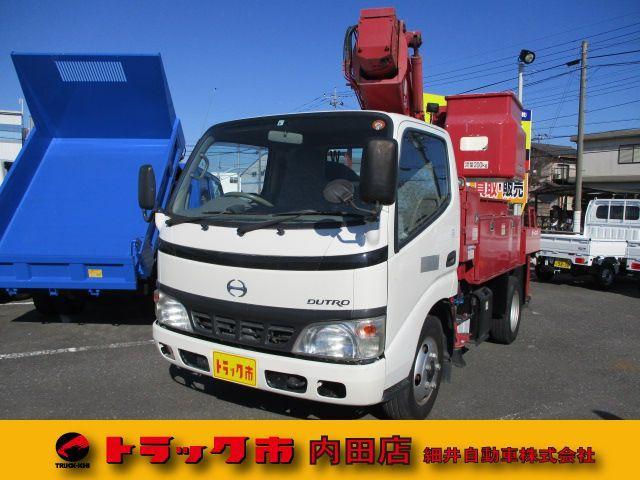 日野 TADANO10メーター高所作業車