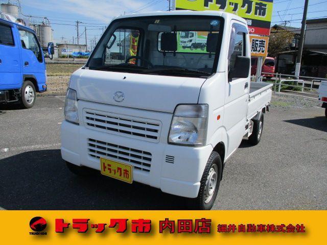 マツダ スクラムトラック KU 2WD 三方開き (検32.8)