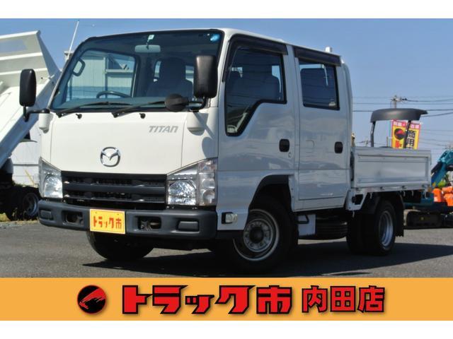 マツダ タイタントラック 1.5トンWキャブ超低床平ボディー