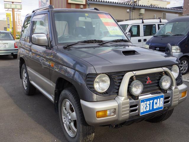 三菱 パジェロミニ VR−II 記録簿 4WD (なし)