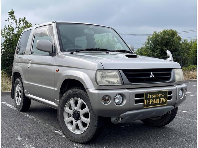 三菱 パジェロミニ アクティブフィールドエディション 4WD.ターボ.ナビ.地デジ.Bluetooth.ETC.DVD
