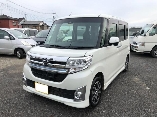 ダイハツ タント カスタムX トップエディションSAII 純正フルセグナビ/スマートアシストII装備車