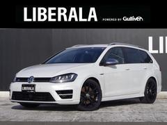 VW ゴルフRヴァリアントローンチエディション ACC 黒白コンビレザー 衝突軽減