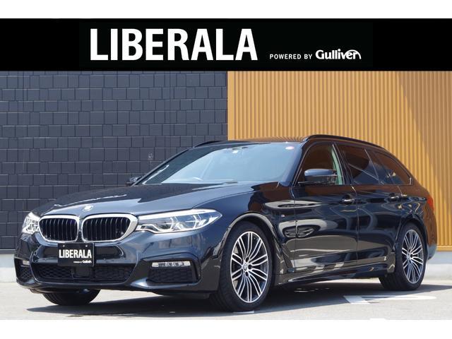 BMW 5シリーズ 523dツーリング Mスポーツ 黒革 HUD ACC Pリアゲート インテリジェントSFT トップビューカメラ