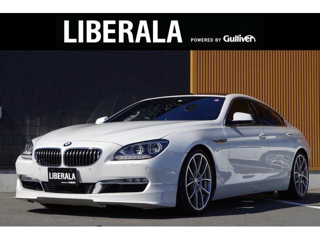 BMW 6シリーズ 640iグランクーペ サンルーフ 茶革シート クルーズコントロール コンフォートアクセス F席メモリ付Pシート F席シートヒーター 純正HDDナビ Bカメラ フルセグTV パークディスタンスコントロール 純正20インチAW