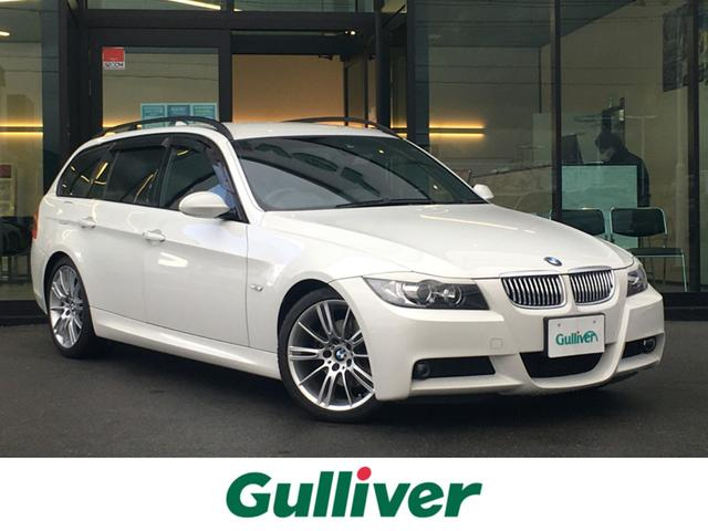 BMW 3シリーズ 320iツーリング Mスポーツパッケージ 社外HDDナビ フルセグTV コンフォートアクセス F席PWシート 純正18インチAW 純正フロアマット HIDヘッドライト オートライト