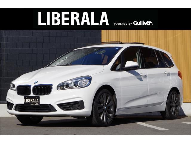 BMW 2シリーズ 218dグランツアラー アクティブクルーズコントロール ヘッドアップディスプレイ サンルーフ フルセグTV 純正OP18インチAW 純正HDDナビ Bカメラ リアPDC ETC LEDヘッドライト オートライト