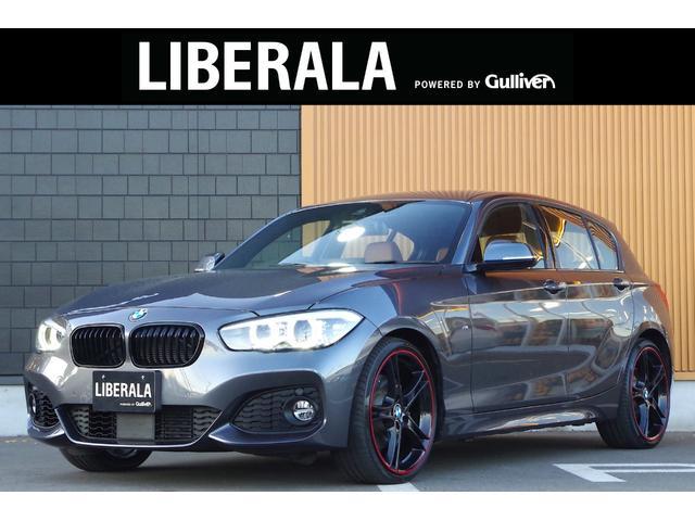 BMW 118i Mスポーツ エディションシャドー 1オーナー アクティブクルーズコントロール ドライビングアシスト ダコタレザーコニャック シートヒーター 純正19インチAW LEDヘッドライト ブラックグリル