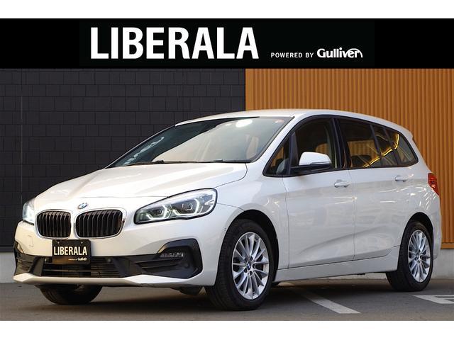 BMW 2シリーズ 218dグランツアラー 純正ナビ バックカメラ パークディスタンスコントロール インテリジェントセーフティ LEDヘッドライト 純正17インチAW