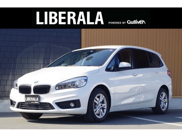 BMW 218dグランツアラー ヘッドアップディスプレイ アクティブクルーズコントロール インテジェントセーフティ 純正HDDナビ バックカメラ パークディスタンスコントロール Bluetooth 純正16AW 純正フロアマット
