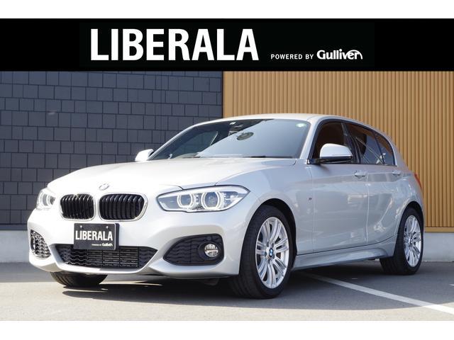 BMW 1シリーズ 118d Mスポーツ クルーズコントロール インテリジェントセーフティ 純正HDDナビ バックカメラ パークディスタンスコントロール 純正フロアマット 純正17AW LEDヘッドライト オートライト