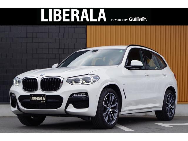 BMW X3 xDrive 20d Mスポーツ 黒革 シートヒーター&ベンチレーション アクティブクルーズコントロール インテリジェントセーフティ トップビューカメラ ヘッドアップディスプレイ 純正20インチAW パワーバックドア