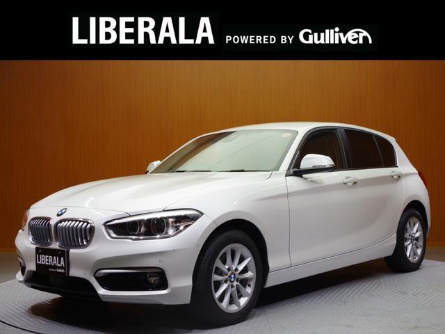 BMW 1シリーズ 118d スタイル ACC コンフォートアクセス 純正ナビ バックカメラ パーキングアシスト インテリセフティー 白ハーフレザーシート シートヒーター ETC LEDヘッドライト 純正16インチAW ドライブレコーダー