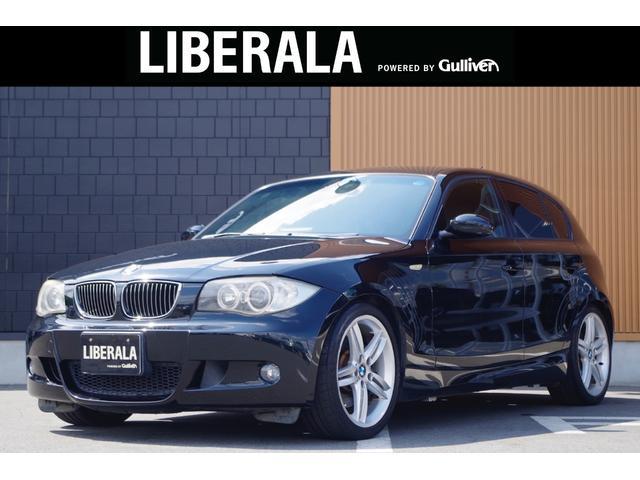 BMW 1シリーズ 130i Mスポーツ 6MT 純正ナビ 黒革シート 前席シートヒーター/パワーシート 純正18インチアルミホイール