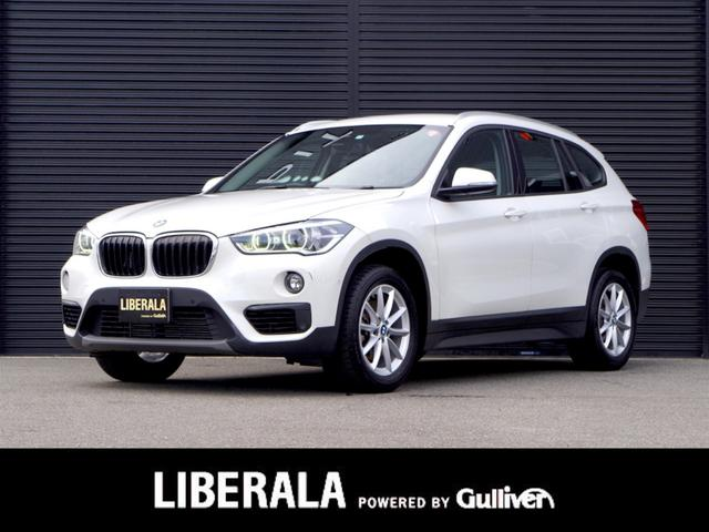 BMW X1 xDrive 18d インテリジェントセーフティ 前席パワーシート コンフォートアクセス LEDヘッドライト クリアランスソナー Bカメラ ETC  ルーフレール 純正ナビ/BT/USB