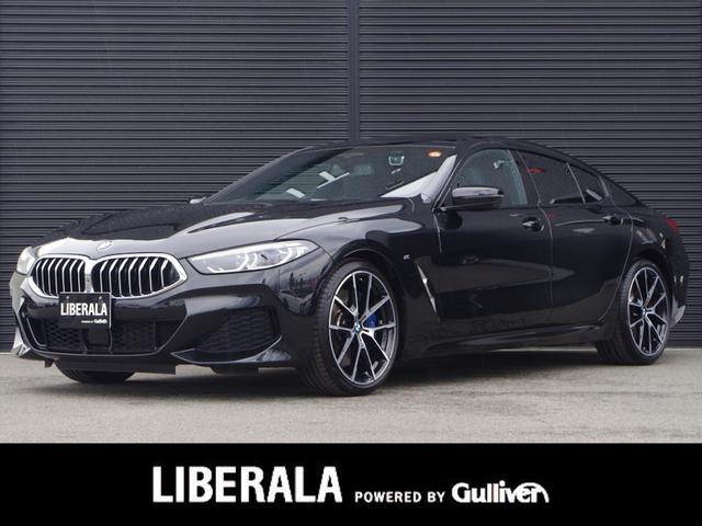 BMW 840i グランクーペ Mスポーツ Pサンルーフ harman/kardon OP20インチAW 全周囲カメラ イノベーションP 電動リアG インテリジェントS ミラー型ETC  黒革 シートH エアシート Pシート レーザLED