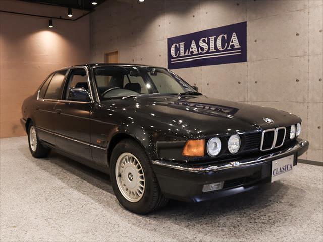 2代目7シリーズ E32型、BMW735i 走行:20,940km インダッシュナビ ETC 前後ドライブレコーダー