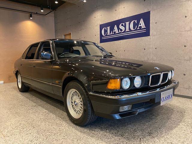 BMW 7シリーズ 740iL インダッシュナビ ETC LEDヘッドライト Fテンションロッド交換済 走行約4万キロ 純正アルミホイール コンチネンタルタイヤ