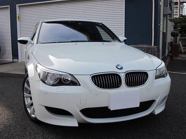BMW M5 ベージュ革 地デジ バックカメラ V10 ETC付