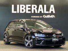 VW ゴルフRベースグレード・ACC・シートヒーター・黒革シート