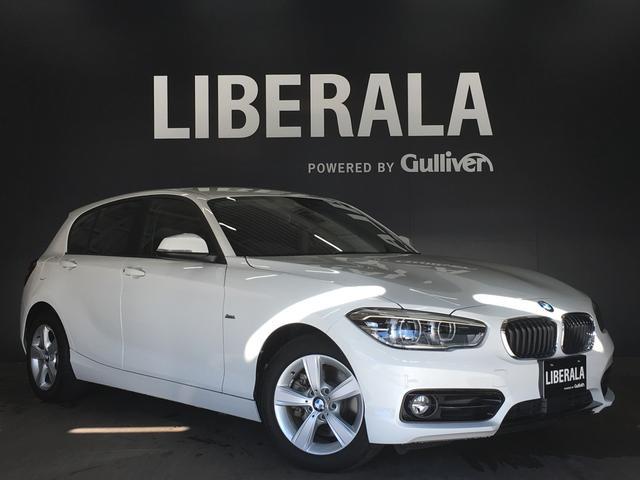 BMW 118i スポーツ・衝突軽減ブレーキ・LEDヘッドライト