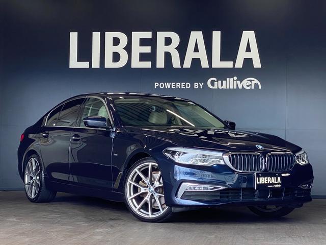 BMW 5シリーズ 523d ラグジュアリー 8シリーズ用純正20inchAW pilot sport3(2019年製造)装着 H30.10/R1.11/R2.10 ディーラー点検履歴あり キャンベラ・ベージュ ダコタレザーシート